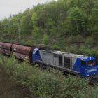 Kohlezug mit einer Vossloh G 2000 BB