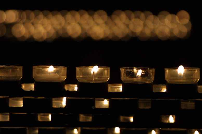Koln cathedral candles