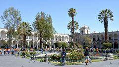 Kolonialer Baustil in Arequipa 1