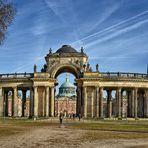 Kolonnade am Neuen Palais in Potsdam