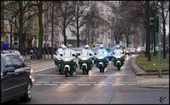 Kolonne Kroatien POLICE