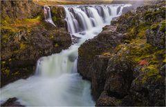 Kolugljufur Wasserfall 3