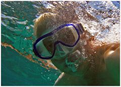 Komodo/Indonesien- Am Riff unter Wasser