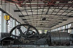 Kompressorenhalle der Zeche Hansa