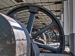 Kompressorhalle Kokerei Hansa - Schwungrad