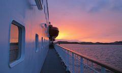 Kong Harald sunset