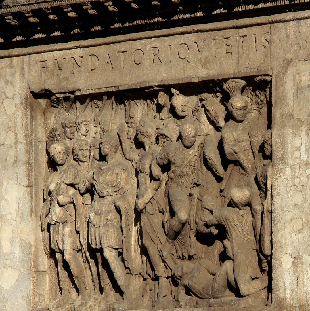 Konstantins-Bogen [ Innen-Relief ]