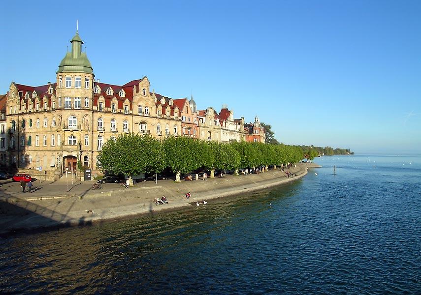 Konstanz - Seestraße im Oktober (1)