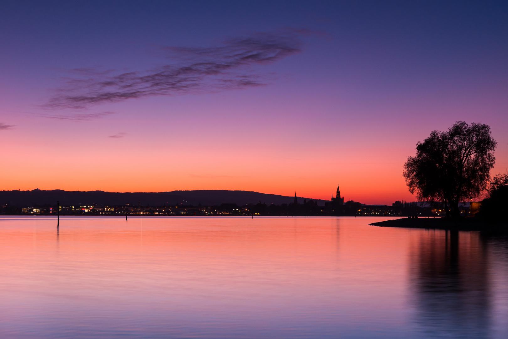 Konstanzer Bucht Nachglühen