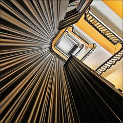 * Kontorhaus-Treppe *