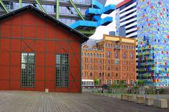 Kontrastreiche Architektur