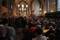 Konzert Stuttgart Leonhardskirche Chor - 14.2.10 Vesperkirche