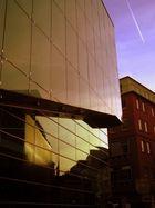 Konzerthaus Dortmund beim Sonnenuntergang