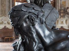 Kopf  eines Fischers im Marmorsaal des unteren Belvedere gefertigt von Georg Donner