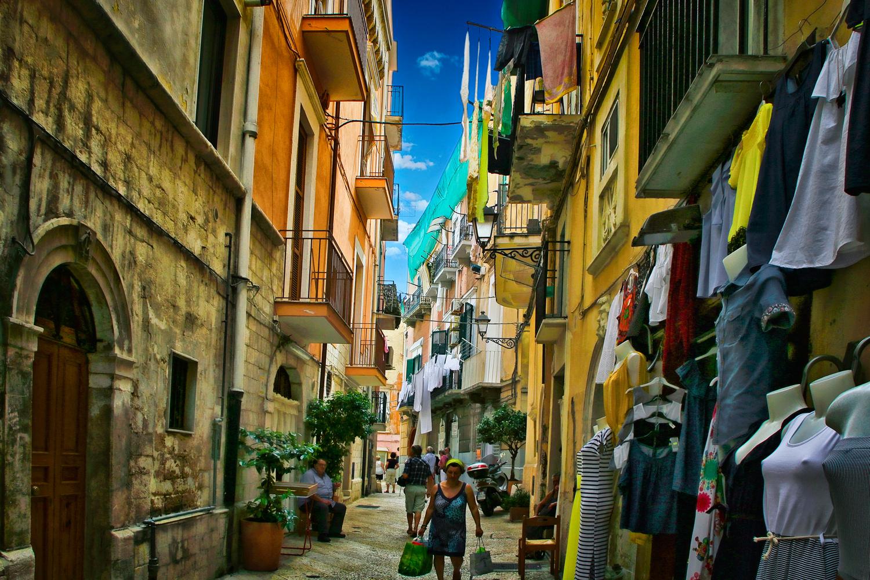 Kopflos in Bari / Süd-Italien
