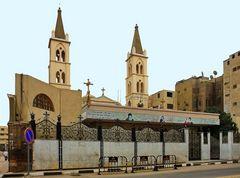 Koptische Kirche in Luxor / Ägypten