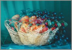 Korb mit Obst