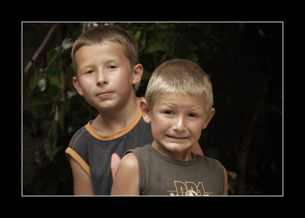 Korfu 20, Felix und Jakob, Juli 06