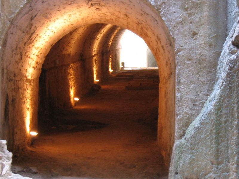 Korfu-in der Festung