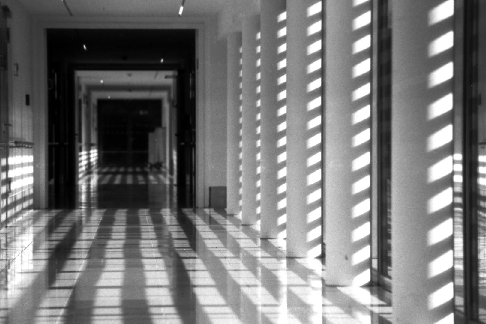 Korridor im Krankenhaus