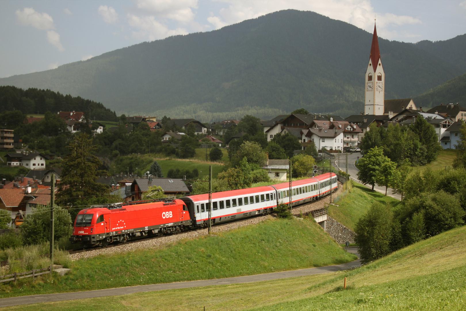 Korridorverkehr in Südtirol