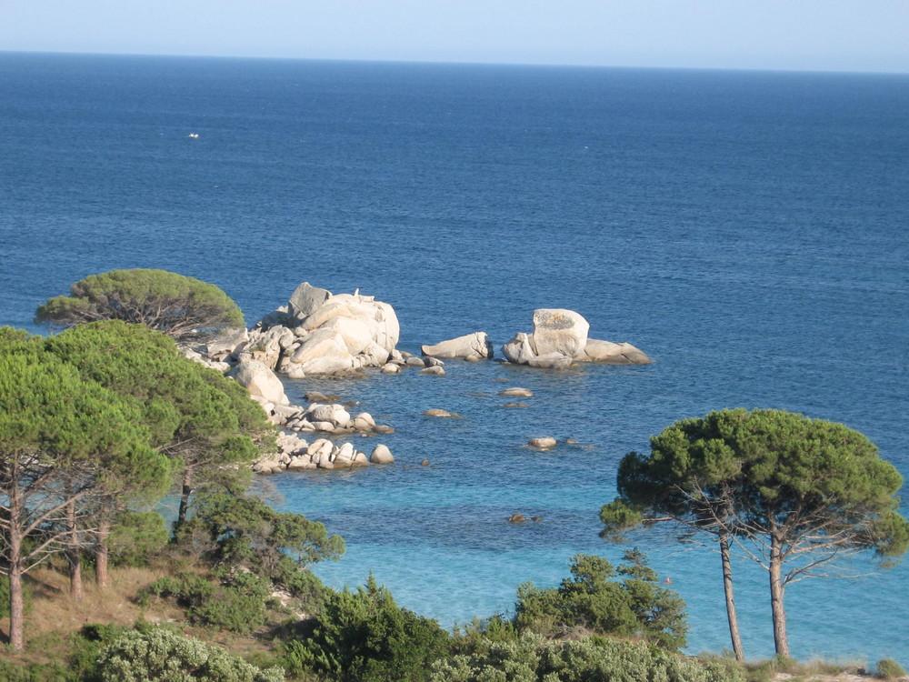 Korsika - Plage de Palombaggia