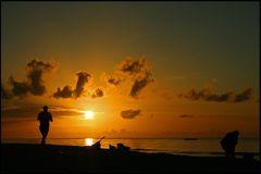 Kos - Sonnenuntergang in Marmari
