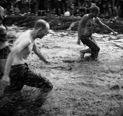 Kostrzyn, Przystanek Woodstock August 2014: Matsch