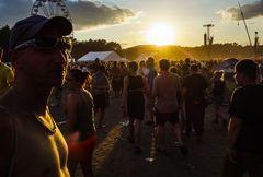Kostrzyn, Przystanek Woodstock Juli 2014: jede Menge Leute
