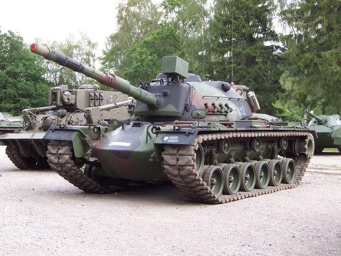 Kpz M-48 der BW