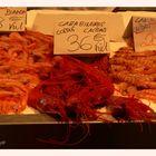 Krabben Hummer Languste Gamberi