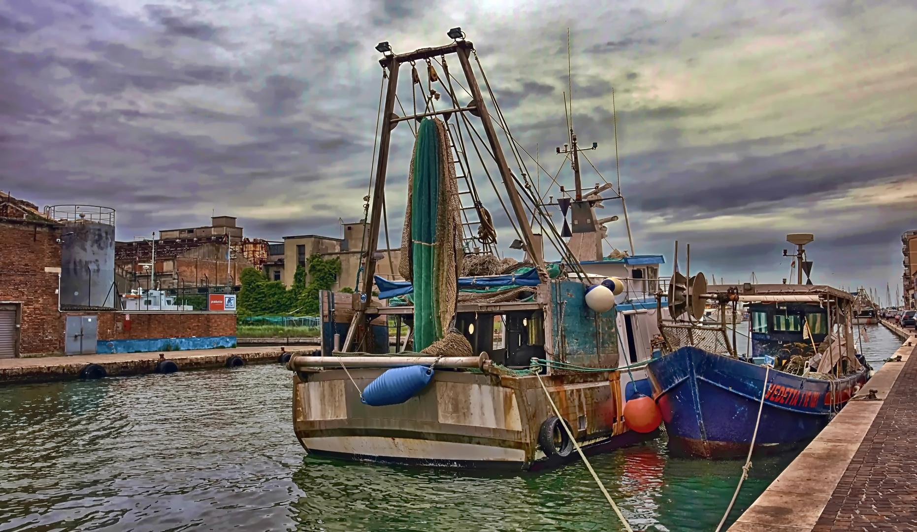 Krabbenfischer von Chioggia