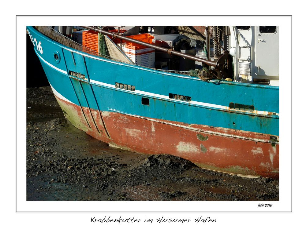 Krabbenkutter im Husumer Hafen