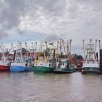 Krabbenkutterparade in Ditzum
