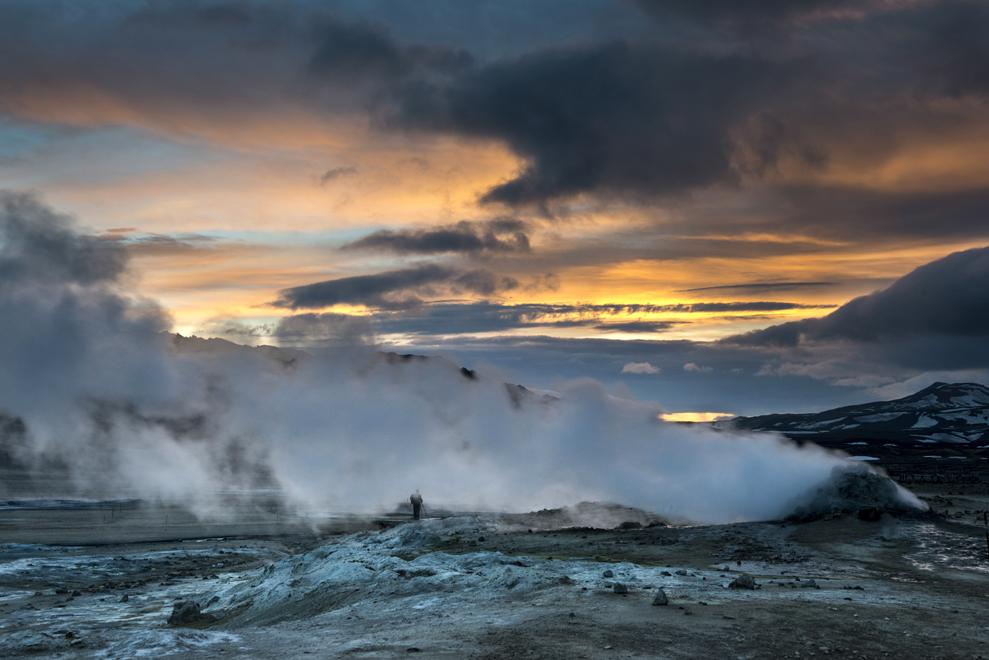 Krafla Geothermalgebiet