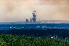 Kraftwerk am Horizont