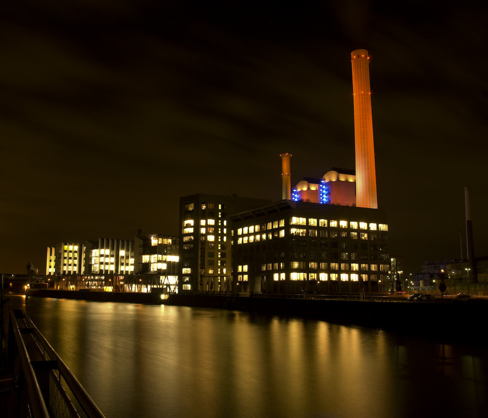 Kraftwerk am Westhafen in Frankfurt am Main (3)