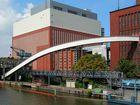 Kraftwerk Charlottenburg am Tage