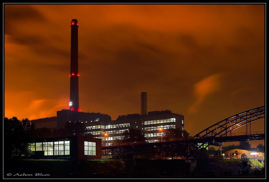 Kraftwerk Hermann Wenzel in Duisburg