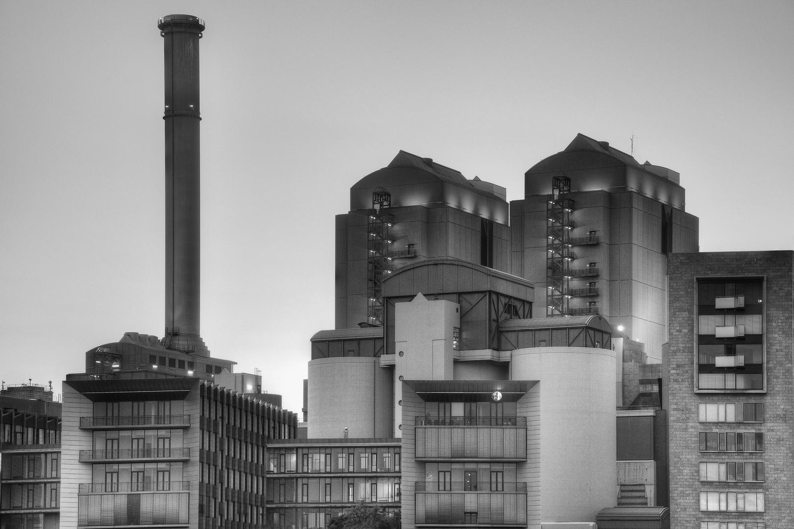 Kraftwerk in Frankfurt
