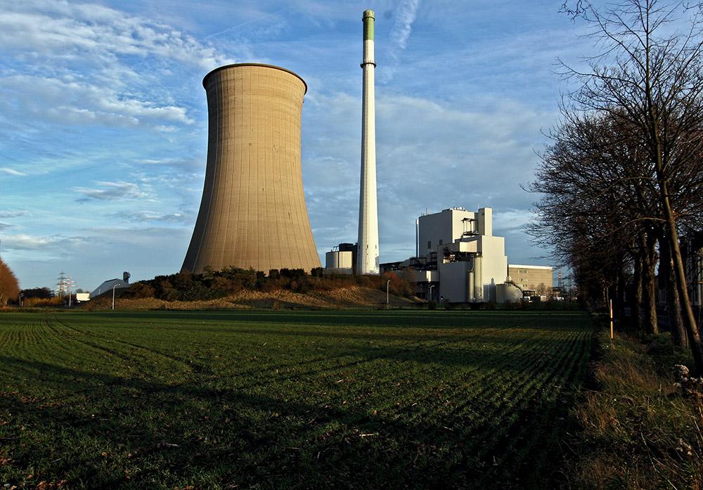 Kraftwerk Knepper in Castrop-Rauxel