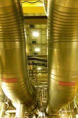 Kraftwerk Lausward - Dampfrohre