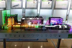 Kraftwerk Lausward - Darstellung des Produktionsablaufs
