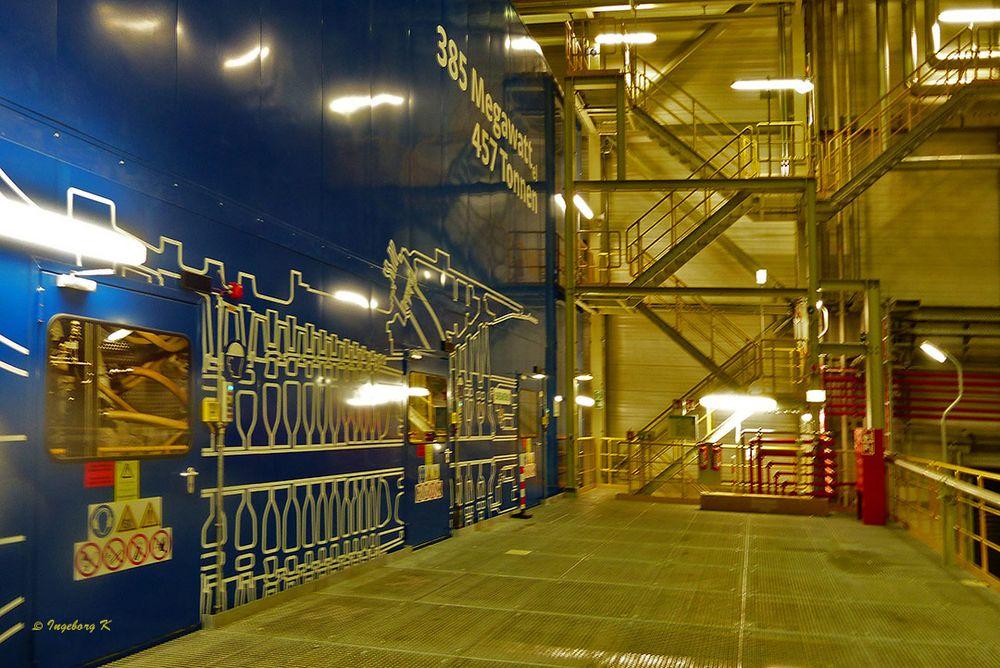 Kraftwerk Lausward - Innenanlage