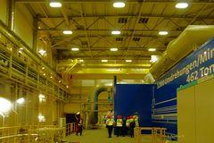 Kraftwerk Lausward - Innenraum der Anlage