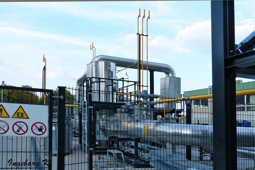 Kraftwerk Lausward - Verteileranlage außen