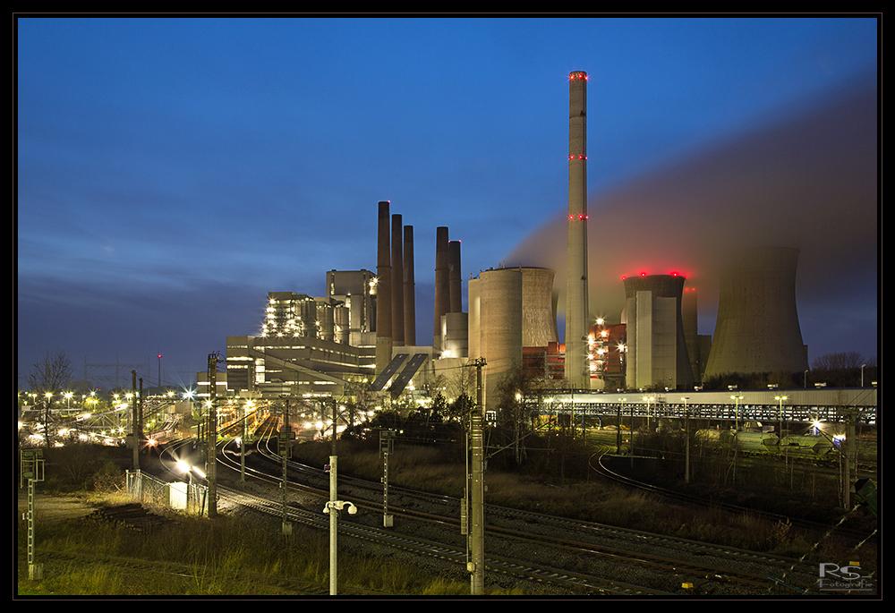 Kraftwerk Neurath das Alte...