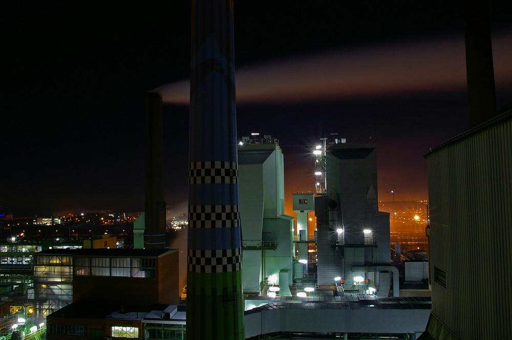Kraftwerk @ Night