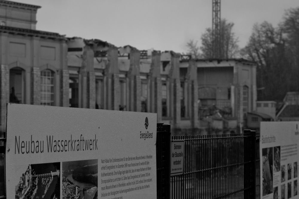 Kraftwerk Rheinfelden (Teil 11)
