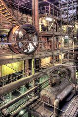 Kraftwerk Vockerode - Maschinenraum